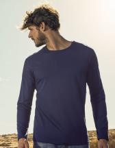 Men´s Roundneck T-Shirt Longsleeve