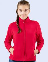 Ladies` Full Zip Fleece Jacket