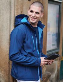 Venturer 3-layer Printable Hooded Softshell Jacket
